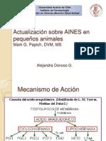 Actualización sobre AINES en pequeños animales