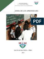 PLAN DE MEJORA DE LA I.E.P.S.M N° 6010275