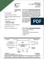 TRANSWITCH datasheet