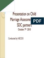 presentation on child assement