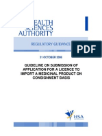 Guideline ImportLicence 31Oct08