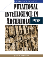 Barcelo - Computational Intelligence in Archaeology