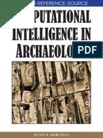 Barcelo - Computational Intelligence in Archaeology