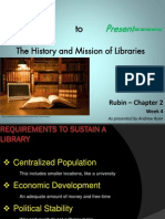 Chapter 2 Lecture - Missions of Libraries