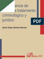 Delincuencia de menores tratamiento criminológico y jurídico