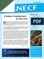 Berita NECF - October-December 2012