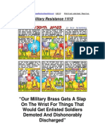 Military Resistance 11I12 a Slap on the Wrist