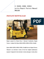Hyster B010 (S25XL S30XL S35XL) Forklift Service Repair Factory Manual INSTANT DOWNLOAD