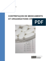 A Rapport Etude IRACM Contrefacon de Medicaments Et Organisations Criminelles FR FINAL Copie 2