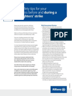 Fire safety tips for your business before and during a firefighters' strike