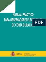 Manual Practico Observadores Electorales Corta Duracion