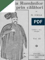 Iorga, Nicolae_Istoria Românilor prin călători (volumul 3)