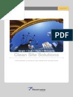 CleanSite Brochure