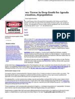 NWO - Censored Gulf News - State-Sponsored Terrorism - Agenda 21 - Pt 3