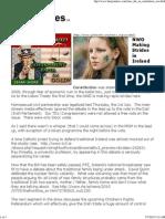 NWO - Making Strides in Ireland