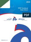 Ppr Techincal Data Sheet