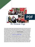 The Minimum Wage