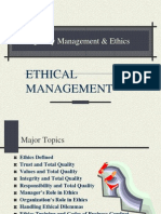 quality management ethics