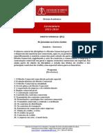 Pg Direito Comercial i - Tan - 2013-2014