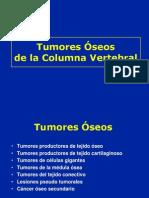 Tumores de La Columa Vertebral CASO CLINICO
