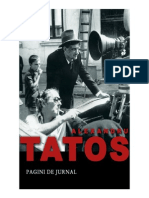 Alexandru Tatos - Pagini de Jurnal