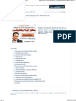 Tutorial básico de Visual basic - Funciones de formato