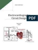 Electro Cardiograph y Circuit Design