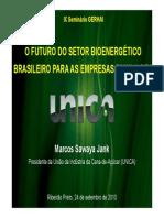 O futuro do setor bionergético brasileiro para as empresas familiares