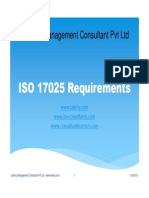 ISO 17025 Requirements