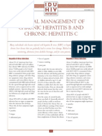 Manage Chronich Hep B-c