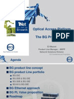 Optical Access-BG Product Line