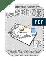 SETIEMBRE – ÁLGEBRA – 5TO - 1