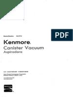 21714Red Kenmore 21714 Progressive Canister Vacuum HEPA NEW Floor Model In Box