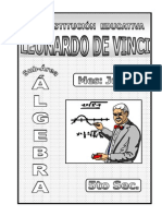 3. JUNIO – ÁLGEBRA – 5TO