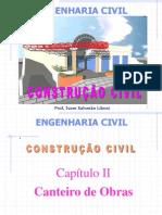 2. Cap. II  - Canteiro de Obras - Instalações