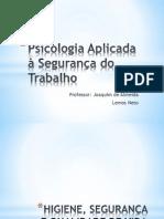 Psicologia Aplicada à Segurança do Trabalho - aula1