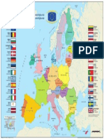 The European Union Map and Islands