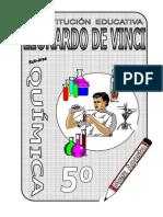 AGOSTO –  QUIMICA - 5TO