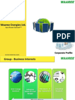 Waaree Corporate Profile