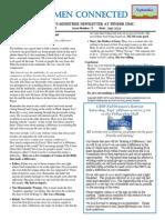 Women Connected Newsletter Sept 2013