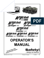 Argo Operators Manual (2010 Models)v1