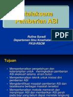05. Tatalaksana Pemberian ASI