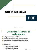 AIR in Moldova