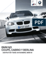 Catalogo BMW M3 Coupe Cabrio Sedan ES New