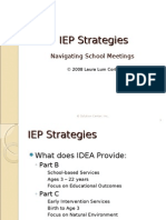 IEP Strategies Navigating School Meetings