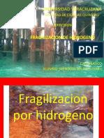 Fragilizacion Por Hidrogeno