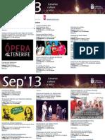 Agenda Cultural Sept 25 Al 29