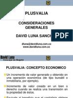PLUSVALÍA Concejal David Luna