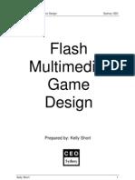 Flash Multimedia Game Design