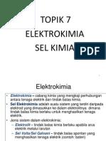 Elektrokimia 7 - Sel Voltan
